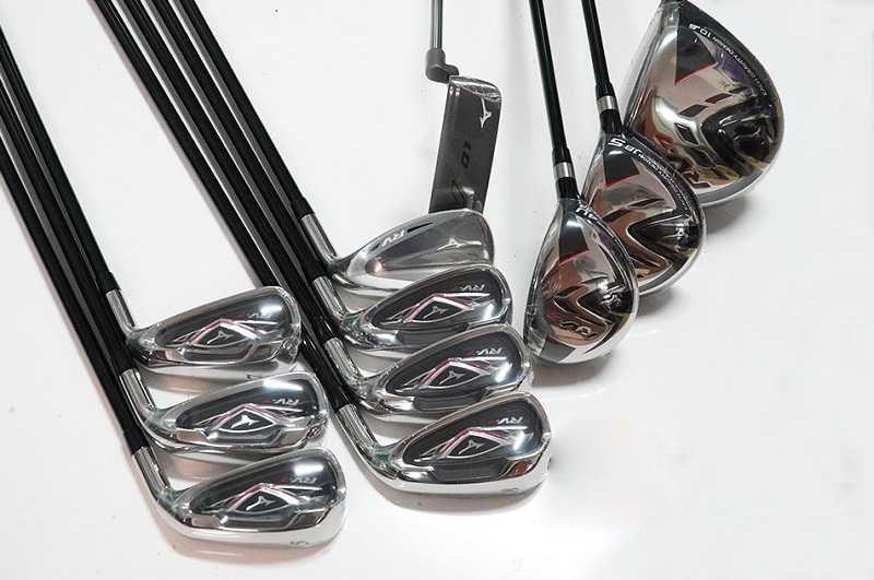 Mizuno RV7 fullset được các golf thủ đã từng sử dụng đánh giá rất cao