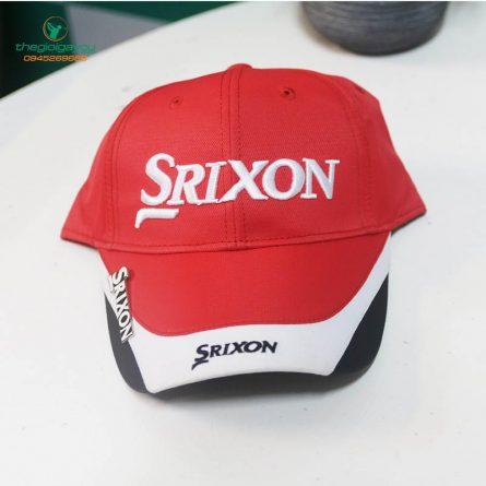 Mũ golf Srixon màu đỏ