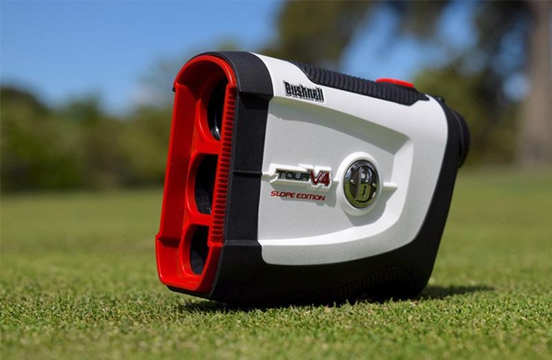 Tìm hiểu về ống nhòm golf Bushnell Tour V4 Shift