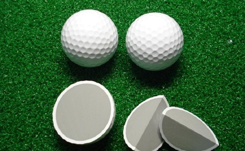 Thiết kế bóng golf khá đặc biệt