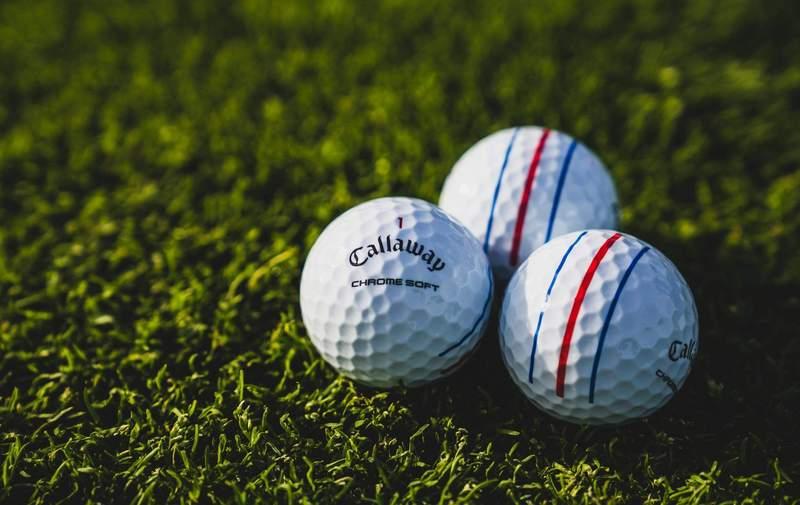 Hình ảnh bóng golf Callaway Chrome Soft