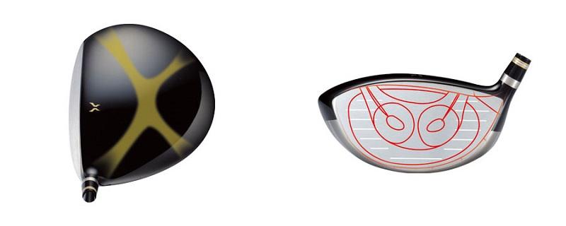 Chi tiết thiết kế mặt gậy fairway 3 Honma Beres S02 2 sao