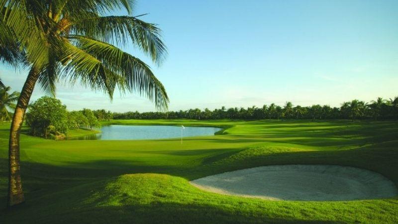 Cảnh quan của sân golf thu hút mọi golfer