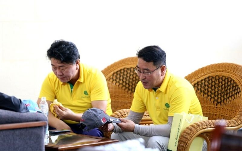 Nơi lưu trú cho golfer tại sân golf Minh Trí