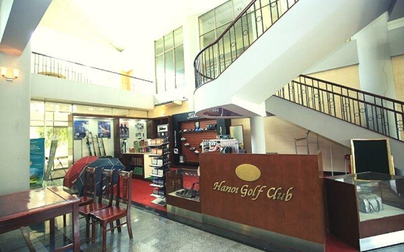 Pro shop sân golf Minh Trí