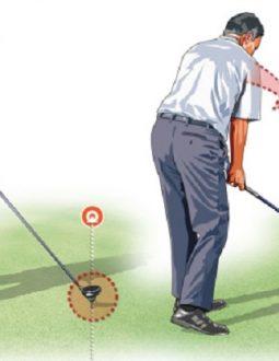 Giữ khuỷu tay đúng vị trí khi backswing