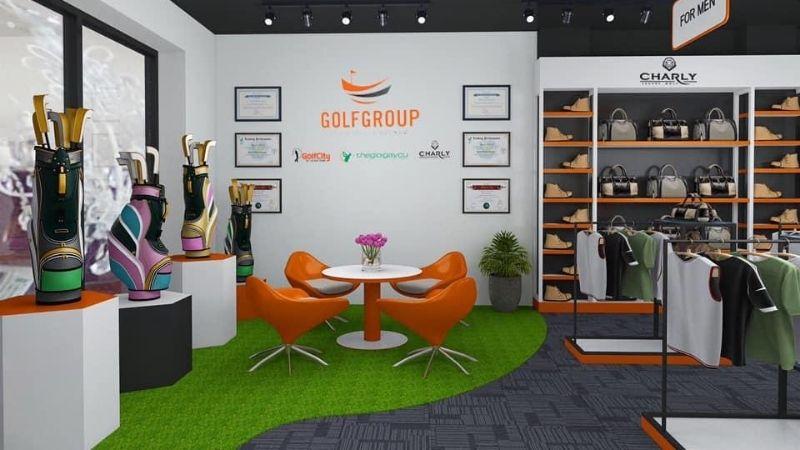 Hệ thống cung cấp những sản phẩm golf chất lượng nhất trên thị trường