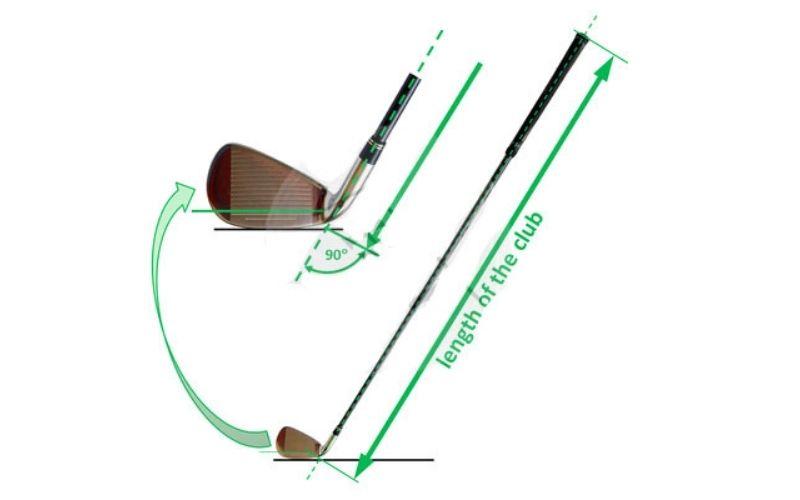 Chiều dài gậy phù hợp với dáng người sẽ giúp người chơi thoải mái khi sử dụng