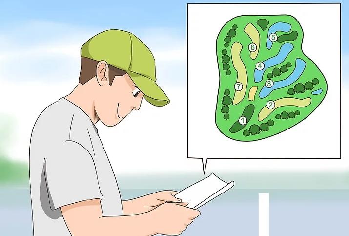 Dạy golf cơ bản: Phải nhớ thứ tự các lỗ golf