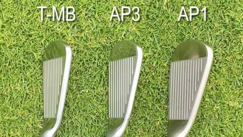 Cấu trúc của mẫu gậy golf thế hệ AP3