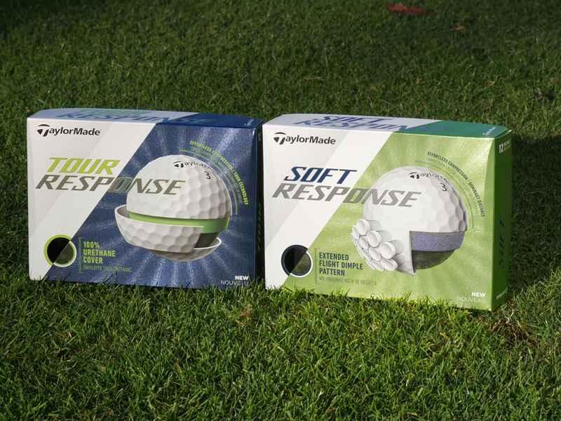 Hình ảnh mẫu bóng golf Tour Response và Soft Response
