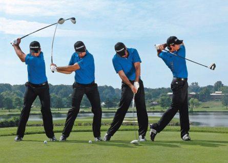 tư thế setup trong golf