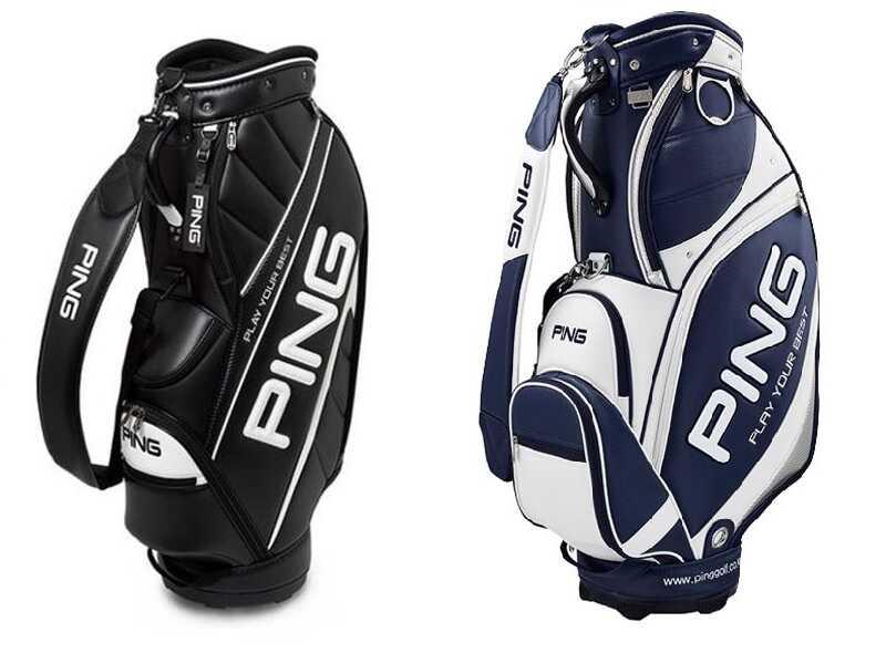 Túi golf Ping da Pu luôn mang đến cảm giác mới mẻ cho các golfer