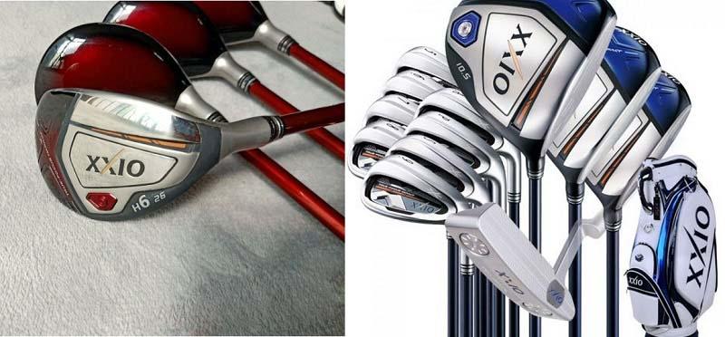 Bộ gậy golf XXIO MP1000 Iron được thiết kế với 2 màu là xanh navy và đỏ