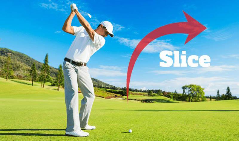 fade, hook, slice, draw golf