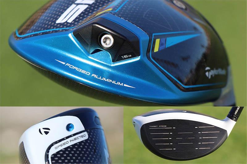 Khuôn mặt gậy của driver TaylorMade SIM2 được cải tiến giúp cho đường bóng đi thẳng hơn