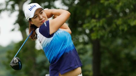 In Gee Chun kết thúc 4 vòng đấu với 21 gậy âm