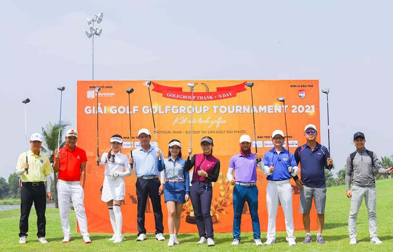 GGA tổ chức nhiều giải đấu golf chuyên nghiệp