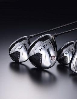 Fullset Honma XP1 có thiết kế bắt mắt mởi tông màu đen xám trắng
