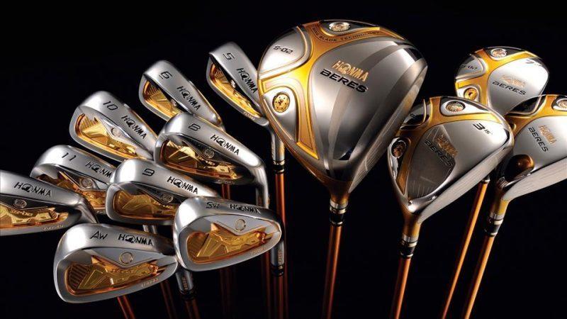Gậy golf Honma có khả năng đáp ứng được những yêu cầu khắt khe nhất từ những người chơi golf.