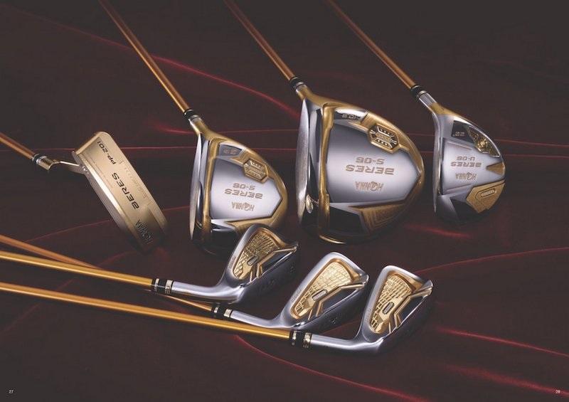 Thiết kế vô cùng tinh tế chắc chắn sẽ là ấn tượng đầu tiên của các golf thủ về gậy golf Honma.