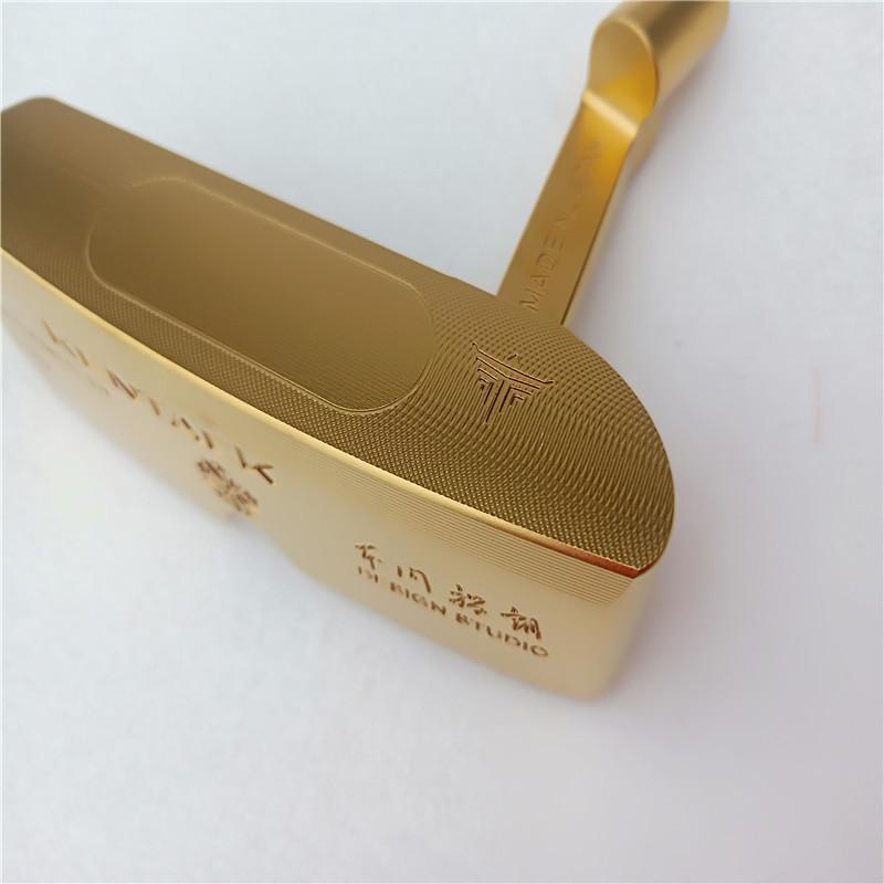Ông Yukihiro đã dùng 50 năm kinh nghiệm của một nghệ nhân để làm ra gậy golf Kentack.