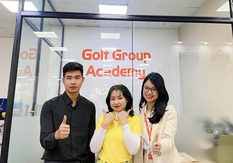 học đánh golf ở golfgroup academy