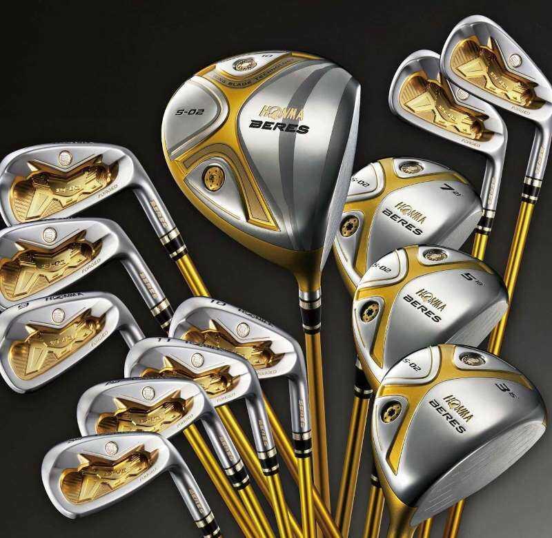 Gậy golf Honma hiện đang được bán rộng rãi trên thị trường Việt Nam