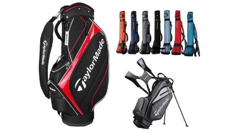 Túi gậy golf TaylorMade có thiết kế năng động, trẻ trung và tiện lợi
