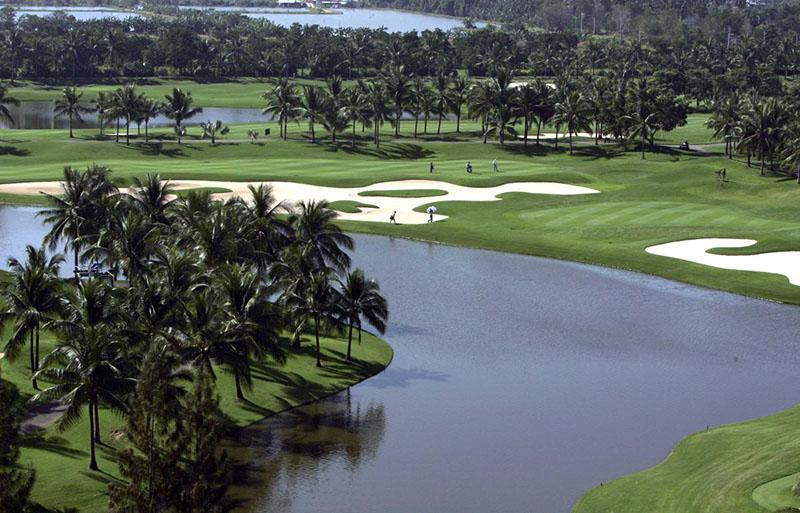 Hệ thống sân golf ở Thái Lan hiện đại, cảnh quan thiên nhiên ấn tượng