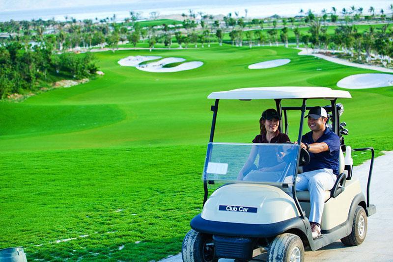 Các sân golf luôn có dịch vụ hiện đại, tiện nghi
