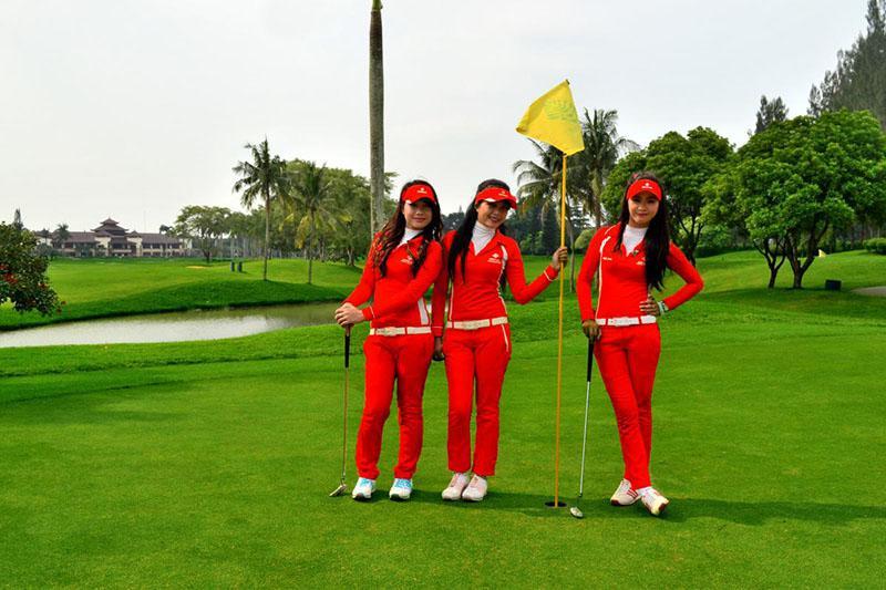 Các sân golf ở Thái Lan sở hữu hệ thống caddy chuyên nghiệp