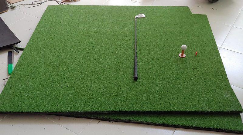 Thảm tập golf có thể di chuyển qua nhiều vị trí khác nhau