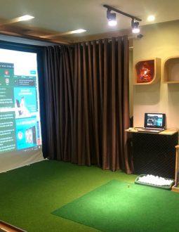 Việc sở hữu 1 phòng golf 3D tại nhà thể hiện đẳng cấp và sự khác biệt của nhiều người