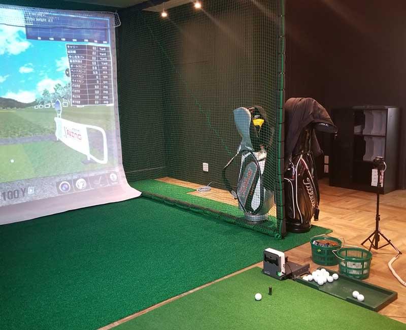 Hạn chế nhỏ khi chơi golf 3D trong nhà là thiếu ánh sáng tự nhiên