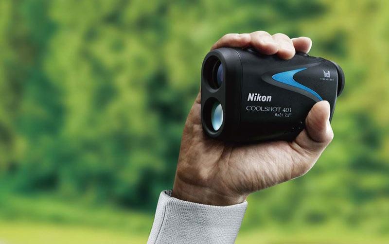 Nikon Coolshot 40i này còn có thể điều chỉnh diop