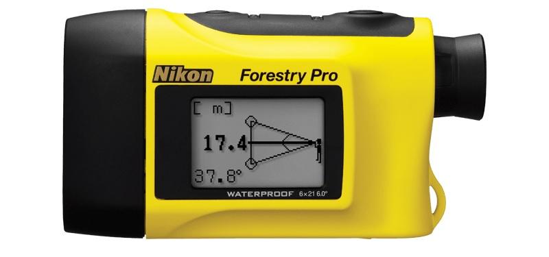 Ống đo khoảng cách Nikon Forestry Pro có nhiều thông số kỹ thuật