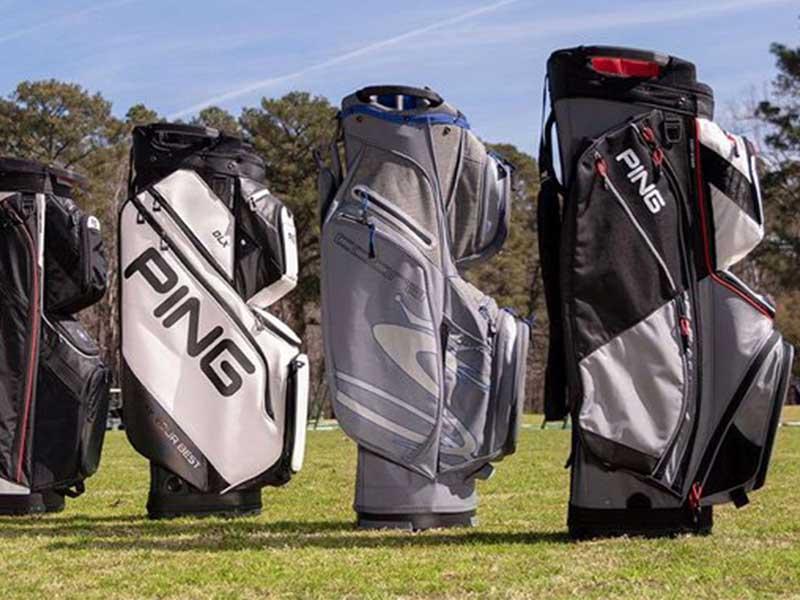 Những chiếc túi golf Cart  bag có thiết kế nhiều ngăn