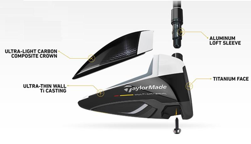 Gậy golf TaylorMade nổi tiếng là có cấu tạo đặc biệt, khác lạ so với các dòng gậy khác trên thị trường