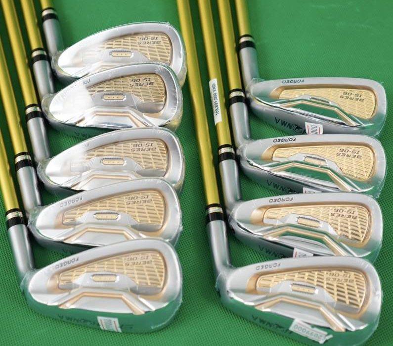 Bộ gậy golf cũ Honma Beres S06 3 sao với công nghệ trợ lực và thiết kế hiện đại, cá tính