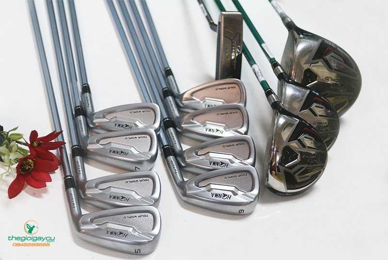 Bộ gậy golf Honma có sức hút với nhiều golfer khi mang đến những đường bóng có độ chính xác cao