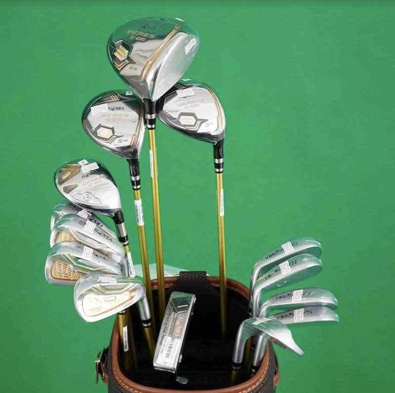Bộ gậy gỗ golf Honma Beres S02 2 Sao Fullset