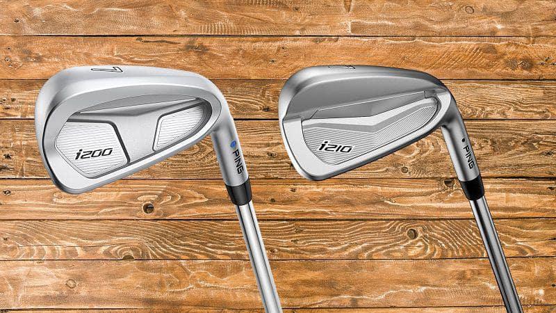 Bộ gậy golf Ping I200 gồm có 9 cây sắt thiết kế sang trọng