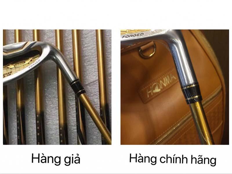 Khách hàng nên kiểm tra kỹ lượng gậy golf Honma trước khi mua