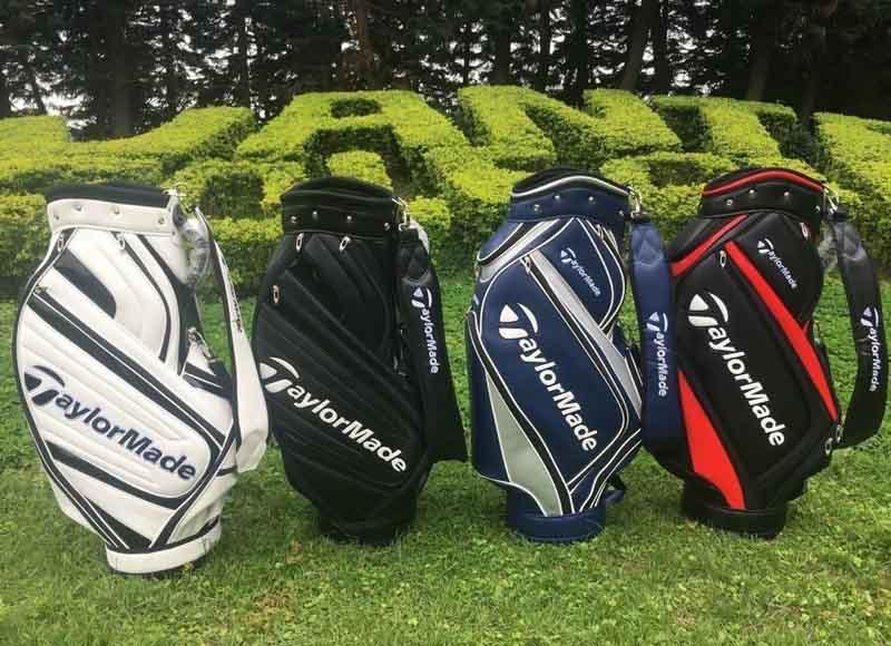 Túi golf của TaylorMade không những có kiểu dáng đep mà chất liệu cũng khá bền