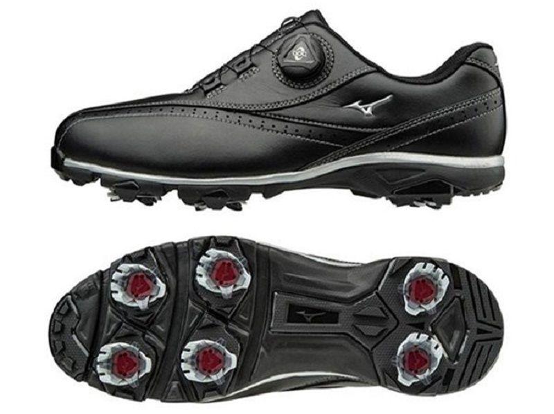 Giày golf nam Mizuno Wide Style 002 BOAhiện đại