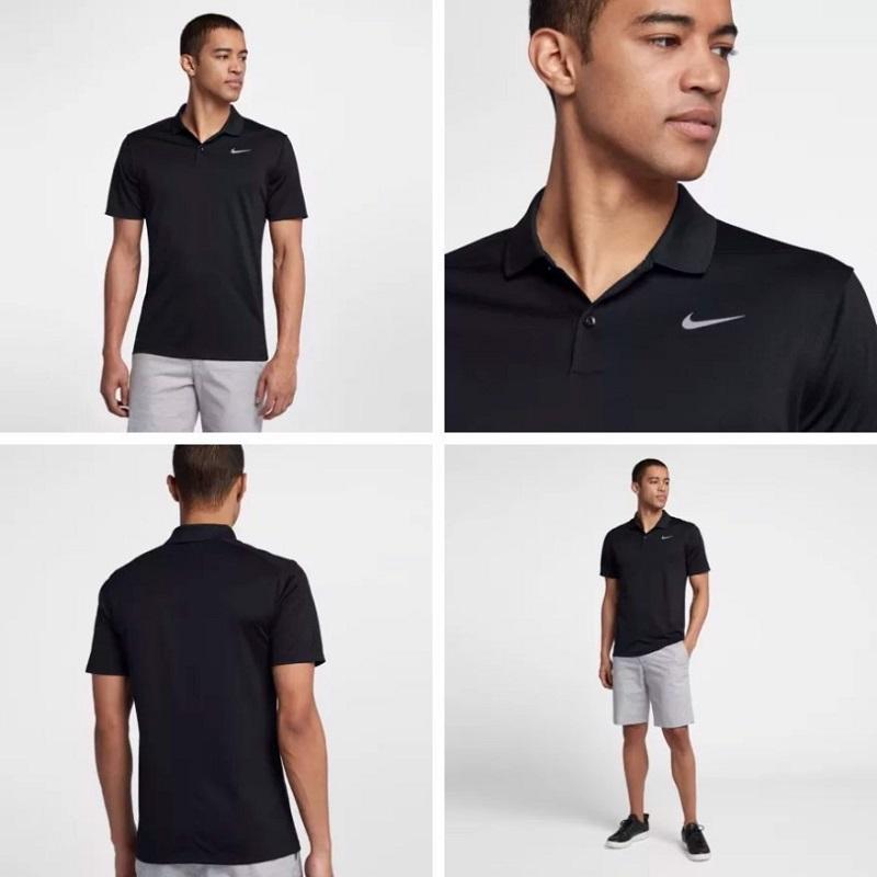 Áo golf nam Nike Men Victory Solid Polo 749332-100