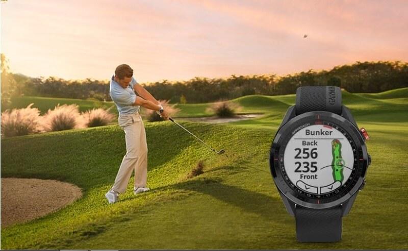 Đồng hồ golf đến từ hãng Garmin có thiết kế trẻ trung, năng động