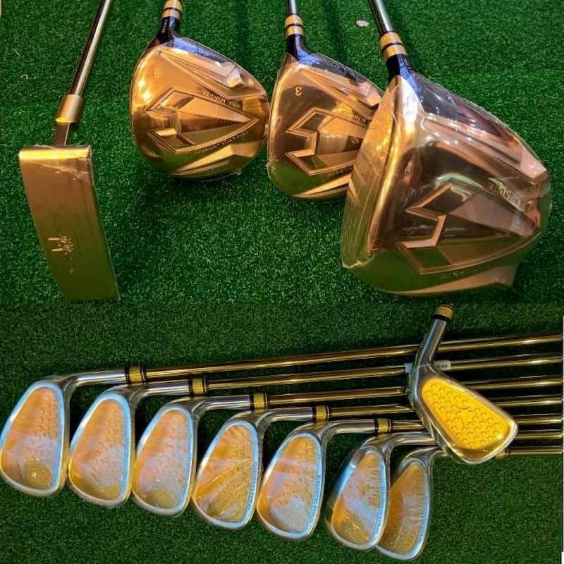Gậy golf trợ lực Grand Prix sở hữu vẻ ngoài vô cùng tinh xảo