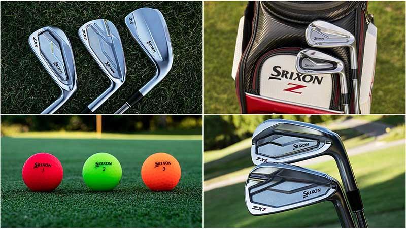 Thương hiệu Srixon nổi tiếng với nhiều sản phẩm.